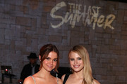 Maia Mitchell and Halston Sage attend a special screening of Netflix's 'The Last Summer' at the TCL Chinese Theatre on April 29, 2019 in Los Angeles, California.