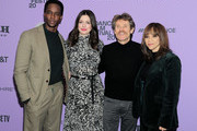 Edi Gathegi, Anne Hathaway, Rosie Perez, Willem Dafoe attend the Netflix The Last Thing He Wanted Premiere at Eccles Center Theatre on January 27, 2020 in Park City, Utah.