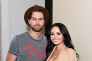 Pierson Fode and Emelina Adams attend launch event for Whyte Studio's Festival Capsule Collection at Top Shop at the Grove on April 17, 2019 in Los Angeles, California.