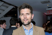 Adam Scott attends the launch of the Jane Club in Larchmont Village on April 04, 2019 in Los Angeles, California.