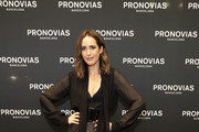 Louise Roe attends the launch of Pronovias 2020 collection; Pronovias is delighted to introduce #PronoviasTalks on October 14, 2019 in London, United Kingdom.