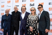Scott Z. Burns, Steven Soderbergh, Gary Oldman, Meryls Streep and Antonio Banderas attend the North American Premiere of 'The Laundromat' at the The Princess of Wales Theatre on September 09, 2019 in Toronto, Canada.