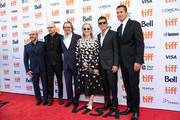 Scott Z. Burns, Steven Soderbergh, Gary Oldman, Meryls Streep and Antonio Banderas and Scott Stuber attend the North American Premiere of 'The Laundromat' at the The Princess of Wales Theatre on September 09, 2019 in Toronto, Canada.