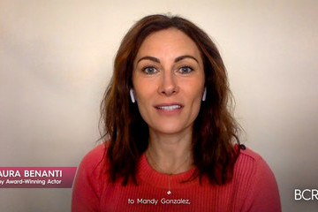 Laura Benanti Breast Cancer Research Foundation Hosts A Virtual Hot Pink Evening