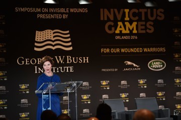 Laura Bush Invictus Games Orlando 2016 - Opening Ceremony