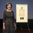 Laura Bush National Archives Foundation Honors Laura Bush With Records Of Achievement Award At Annual Gala