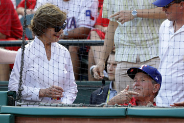 Laura Bush Division Series - Toronto Blue Jays v Texas Rangers - Game One