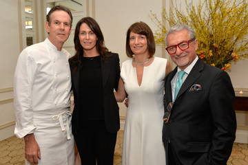 Laura Cunningham Adam Tihany Book Launch Event in NYC