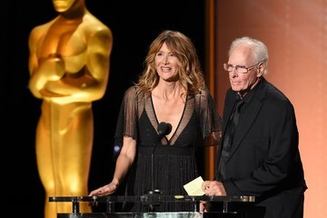 Laura Dern Bruce Dern Academy of Motion Picture Arts and Sciences' 8th Annual Governors Awards - Arrivals