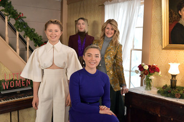 Laura Dern Saoirse Ronan Little Women Orchard House Photo Call