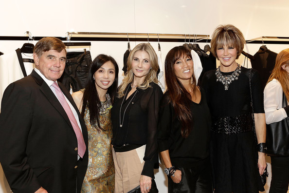 Barbara Bui and Friends Visit Her Rodeo Drive Boutique