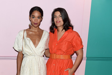 Laura Harrier 2017 CFDA Fashion Awards - Cocktail Hour