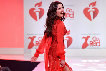 Laura Marano The American Heart Association's Go Red For Women Red Dress Collection 2020 - Runway