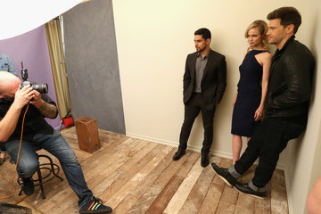 Laura Regan Behind The Scenes Of The Getty Images Portrait Studio Powered By Samsung Galaxy At 2015 Summer TCA's