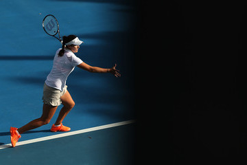 Laura Robson Moorilla Hobart International: Day 2