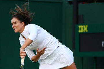 Laura Robson Day Four: The Championships - Wimbledon 2016
