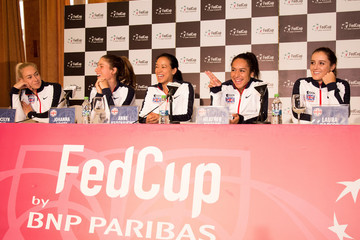 Laura Robson Romania v Great Britain - Fed Cup: World Group II Play Off: Previews