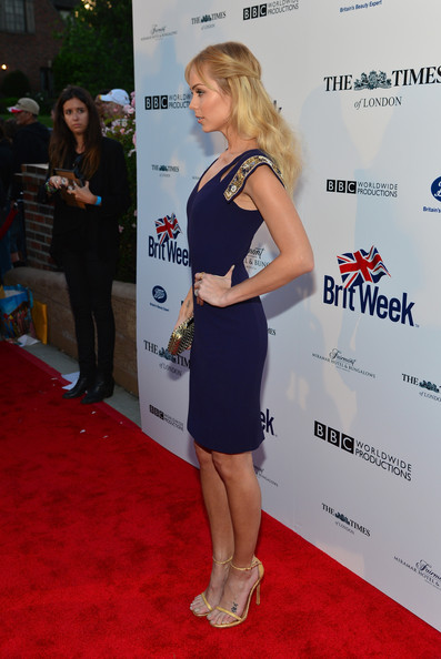 Laura Vandervoort - Arrivals at the BritWeek Launch Party