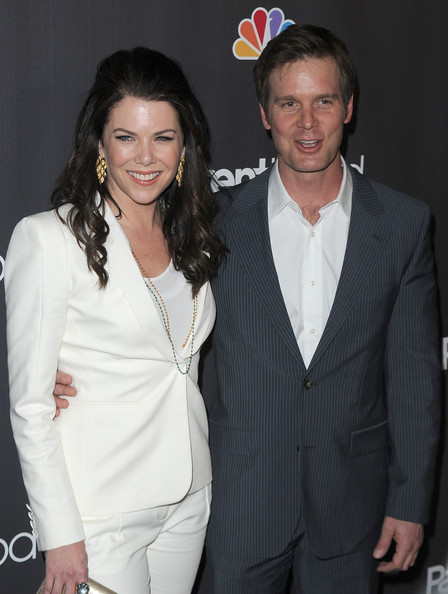 marc blucas and lauren graham. Lauren Graham and Peter Krause