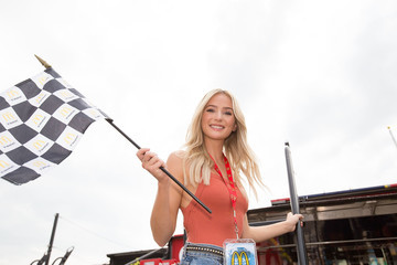 Lauren Bushnell McDonald's Celebrates Buttermilk Crispy Tenders on Race Day at the Chicagoland Speedway