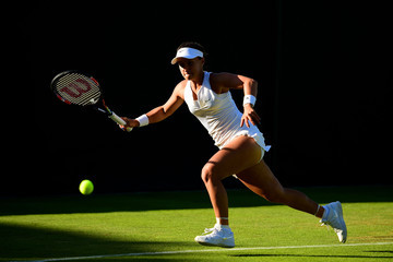 Lauren Davis Day One: The Championships - Wimbledon 2015