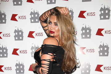 Lauren Goodger KISS FM Haunted House Party