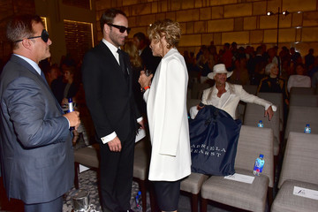 Lauren Hutton FIJI Water at The Daily Front Row's 4th Annual Fashion Media Awards
