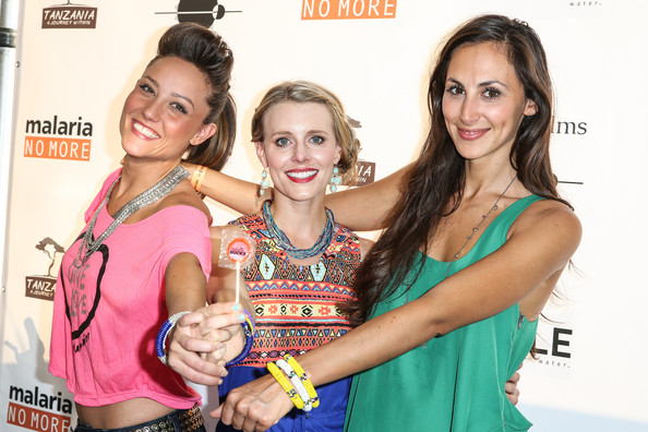"""Tanzania: A Journey Within"" Los Angeles Premiere - Benefiting Malaria No More [tanzania: a journey within,event,leisure,fashion accessory,style,fashion design,kristen kenney,julia price,lauren mayhew,l-r,los angeles,north hollywood,california,malaria no more]"
