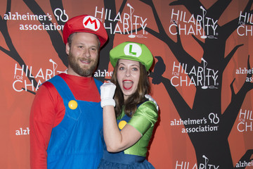 Lauren Miller Rogen Hilarity for Charity's 5th Annual Los Angeles Variety Show: Seth Rogen's Halloween