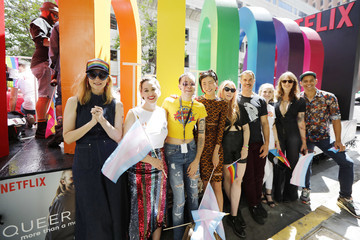 Lauren Morelli 'Tales of the City' Cast Grand Marshall the San Francisco Pride Parade
