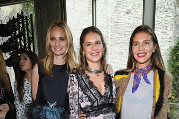 Lauren Santo Domingo Giambatista Valli : Front Row - Paris Fashion Week Womenswear Spring/Summer 2018