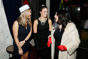 """General Atmosphere during Lauren Scala and Natalie Zfat's Fourth Annual """"Scaring is Caring"""" Halloween Party at The Seville on October 27, 2018 in New York City."""