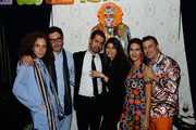 """(L-R) Yigal Azrouel, Matar Cohen Azrouel, Natalie Zfat and Brad Farber attend Lauren Scala and Natalie Zfat's Fourth Annual """"Scaring is Caring"""" Halloween Party at The Seville on October 27, 2018 in New York City."""