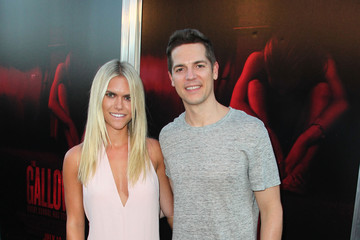 Lauren Scruggs Celebrities Pose at the Premiere of New Line Cinema's 'The Gallows' Red Carpet