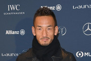 Hidetoshi Nakata attends the Laureus Academy Welcome Reception prior to the 2018 Laureus World Sports Awards at the Yacht Club de Monaco on February 26, 2018 in Monaco, Monaco.