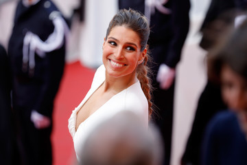 Laury Thilleman 70th Anniversary Red Carpet Arrivals - The 70th Annual Cannes Film Festival