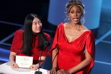 Laverne Cox Awkwafina 25th Annual Screen Actors Guild Awards - Inside