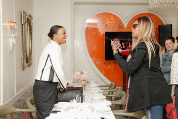 Laverne Cox AMC Hosts An Intimate Luncheon With Joy Nash, Marti Noxo, And Aisha Tyler In Celebration Of Their New Original Series, 'Dietland'