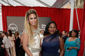 Laverne Cox Danielle Brooks 21st Annual Screen Actors Guild Awards - Red Carpet