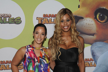 Laverne Cox Dascha Polanco Uma Thurman Hosts the Launch of Dino Tales and Safari Tales at the American Museum of Natural History With Kuato Studios