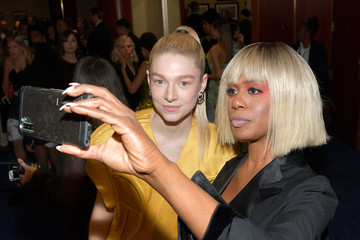 Laverne Cox Hunter Schafer 2020 Getty Entertainment - Social Ready Content