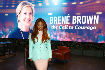 Laverne Cox 'Brené Brown: The Call To Courage'