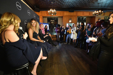 Laverne Cox Zanna Roberts-Rassi The Cast And Executive Producer Of Lifetime's New Show, 'Glam Masters' Attend The Exclusive Premiere Event At Dirty French In New York