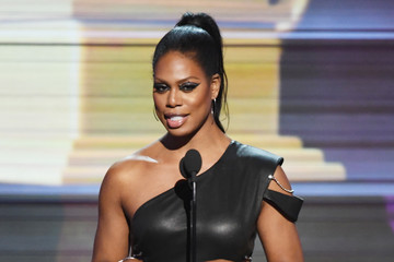 Laverne Cox 59th GRAMMY Awards -  Show
