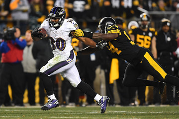 Lawrence Timmons Baltimore Ravens v Pittsburgh Steelers
