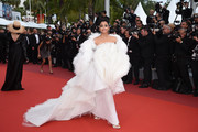 """Aishwarya Rai attends the screening of """"La Belle Epoque"""" during the 72nd annual Cannes Film Festival on May 20, 2019 in Cannes, France."""