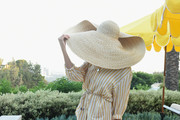 Slim Aarons-inspired guest attends Garance Doré, founder of Atelier Doré, celebrates Au Soleil:A Summer Soirée by Le Méridien – a global programme that brings the playful glamour of 1960s European Summers to Le Méridien hotels around the world, on July 12, 2018 in Beverly Hills, California.