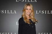 Elena Santarelli attends the Le Silla - Fall/Winter 2014-15 Collection Presentation as part of Milan Fashion Week Womenswear Autumn/Winter 2014 on February 22, 2014 in Milan, Italy.