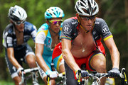 Lance Armstrong and Andy Schleck Photos Photo