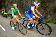 Marcel Kittel of Germany riding for Quick-Step Floors in the green points jersey rides at the back of the peloton after a crash during stage 17 of the 2017 Le Tour de France, a 183km stage from La Mure to Serre-Chevalier on July 19, 2017 in La Mure, France.